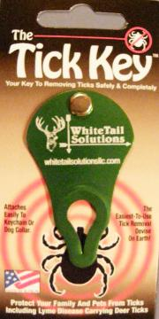 The Tick Key - an innovative tool from removing ticks from both humans and pets.